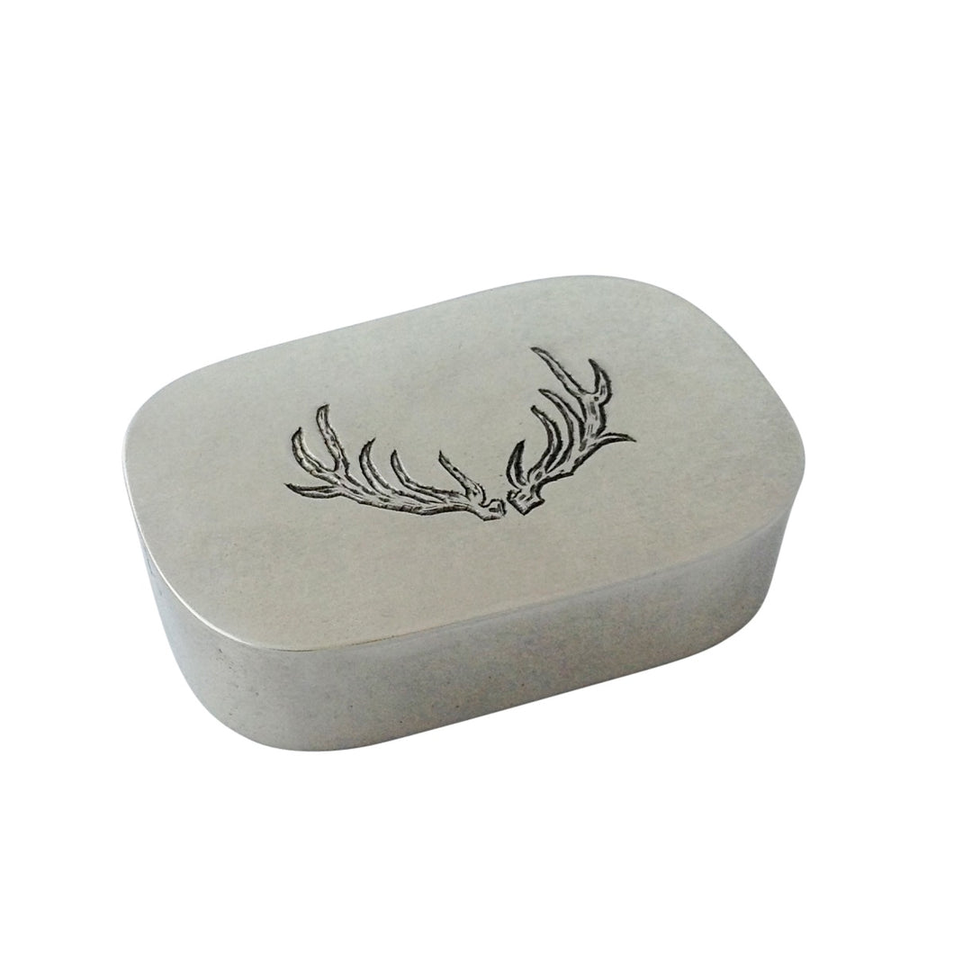 Match Pewter - Simple Covered Antler Box