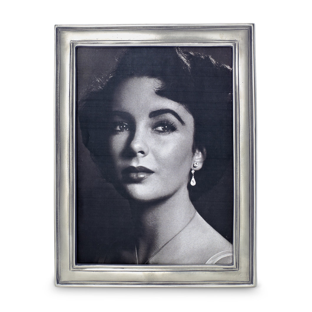 Match Pewter - Frames - Lugano Rectangular Frame, Large