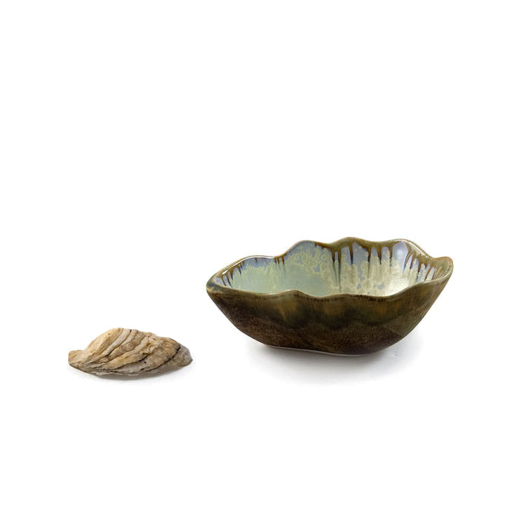 AE Ceramics - Oyster Series - Small Nesting Bowl in Abalone & Tortoise