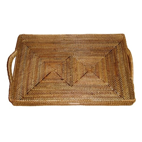 Calaisio - Rectangular Tray with Up Handles - Medium