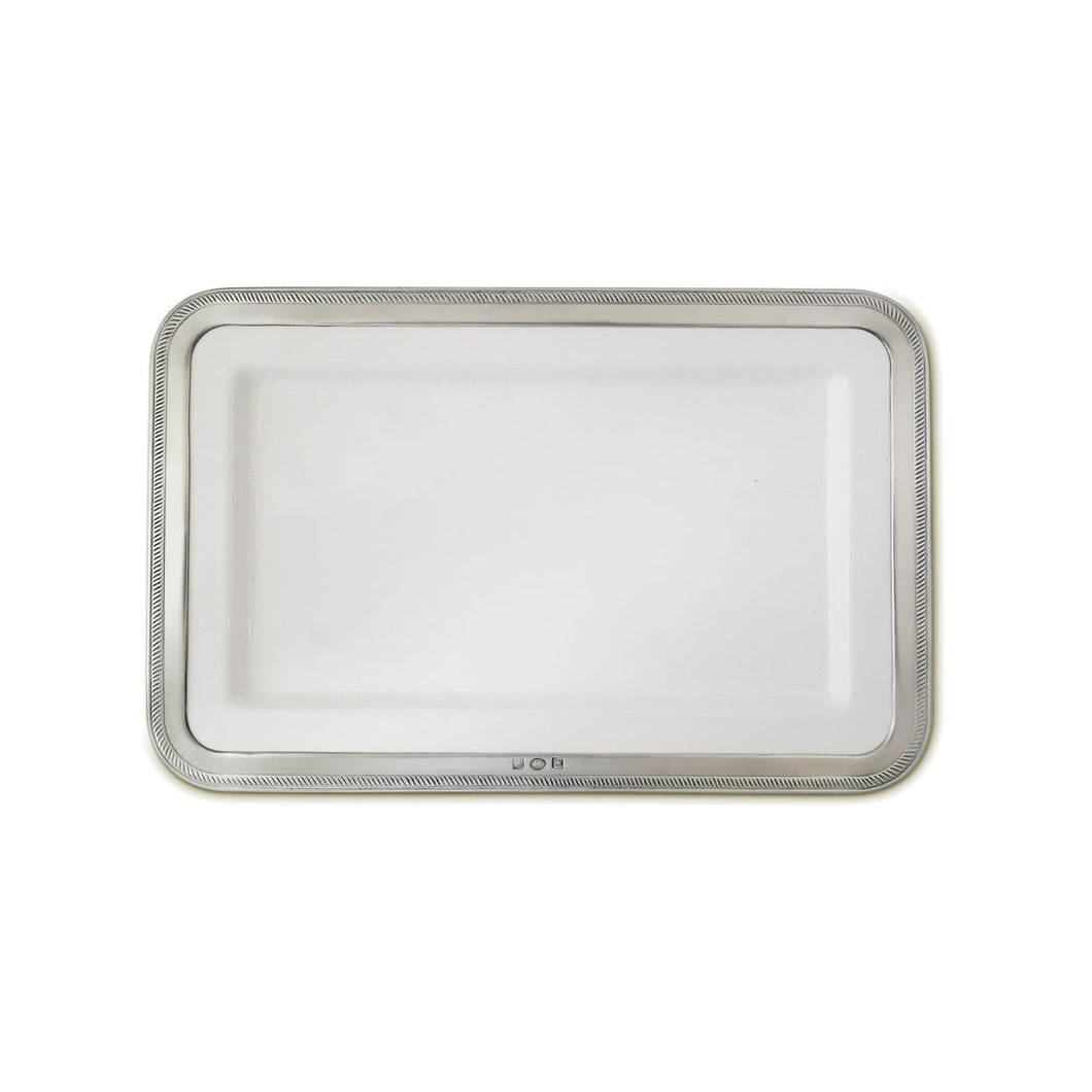 Match Pewter - Luisa - Rectangular Platter, Medium
