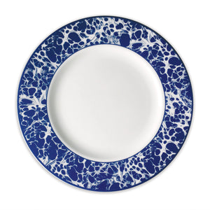 Caskata - Williamsburg Blue Marble - Dinner Plate