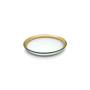 Annieglass - Roman Antique Gold - Salad Plate