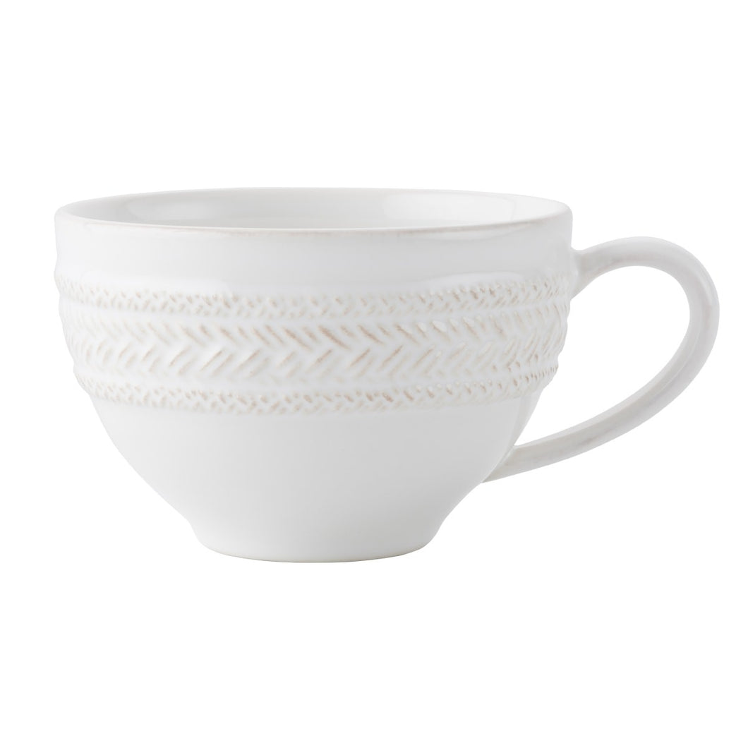 Juliska - Le Panier Whitewash - Tea/Coffee Cup