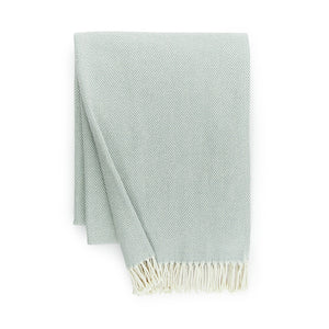 Sferra - Celine Throw - Slate Blue
