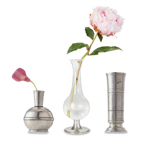 Match Pewter - Footed Glass Vase