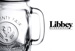 Libbey Mason Jar (regular mouth) with 2 drink lids 16oz |美國 Libbey 玻璃瓶(普通瓶口)連兩個蓋 16oz