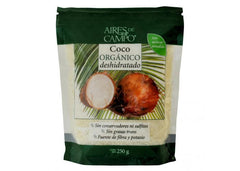 Aires de Campo® Organic Dehydrated Shredded Coconut, RAW (250g)|Aires de Campo®有機風乾椰子絲(250克)