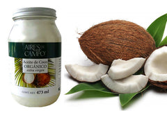 Aires de Campo® Organic Cold-pressed Coconut Oil, RAW (473ml)|Aires de Campo®有機冷壓椰子油(473毫升)