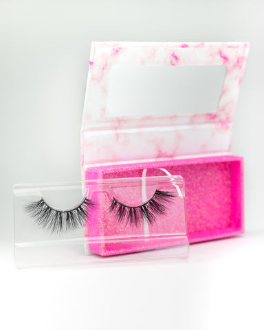 Laura 16mm Natural Siberian Mink Eyelashes