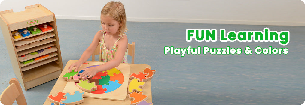 FUN Learning Playful Puzzles & Colors