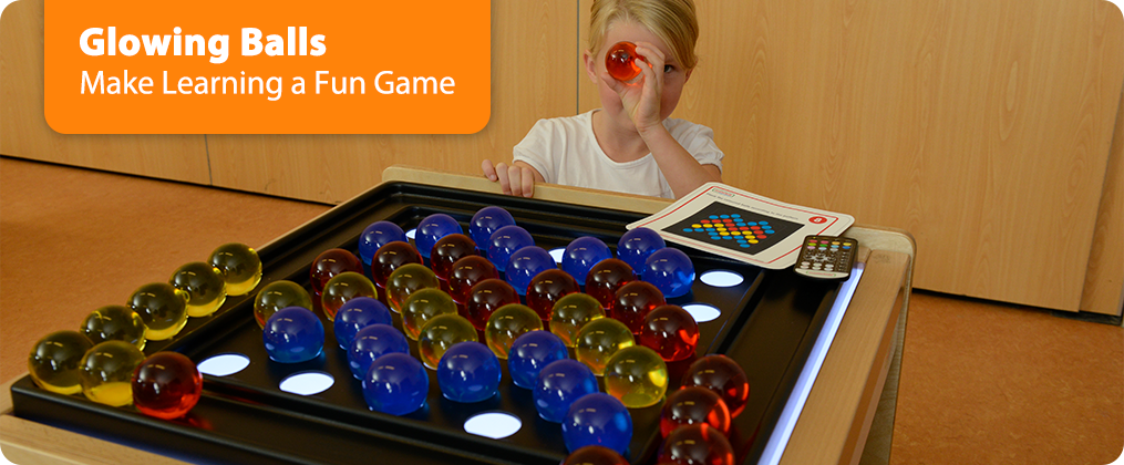 Glowing Balls  Make Learning a Fun Game