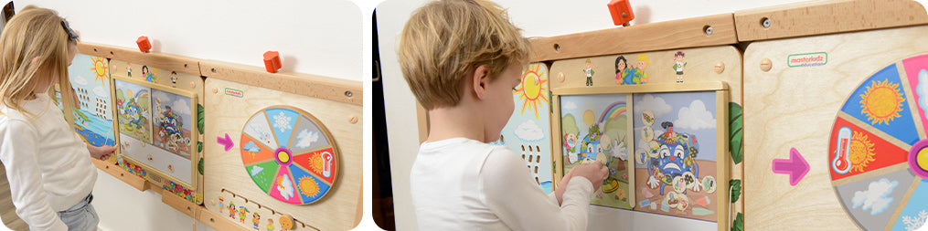 Children can raise awareness of caring for the earth by learning about human actions that protect and pollute the environment through game boards