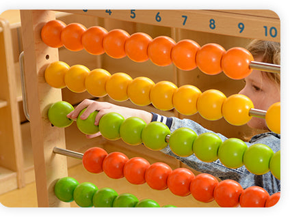 Provide FUN Learning of 1-100 Tactilely and Visually