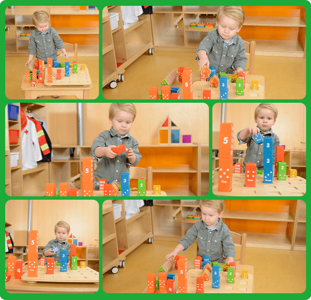 Allow your kids build their imaginary cities whilst developing spacial perception