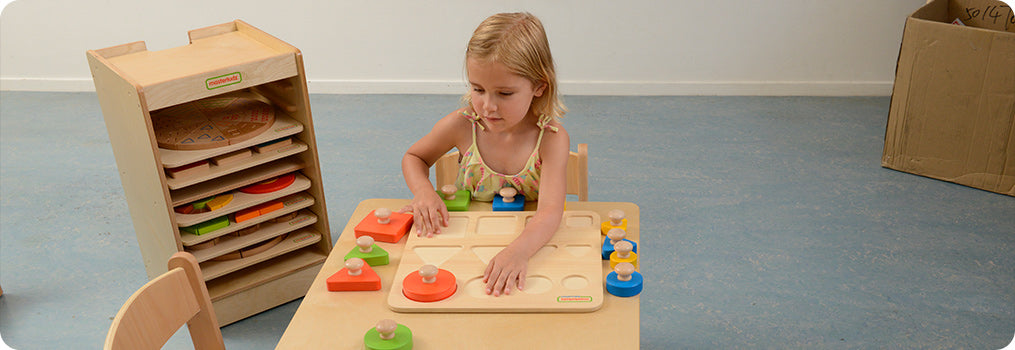 Each piece is easy to grip and fits into the wooden tray that measures 38 x 38 x 5.3cm.