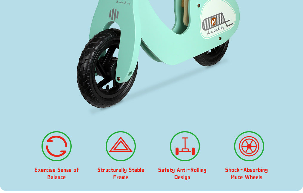 Exercise Sense of Balance Structurally Stable Frame Safety Anti-Rolling Design Shock-Absorbing Mute Wheels