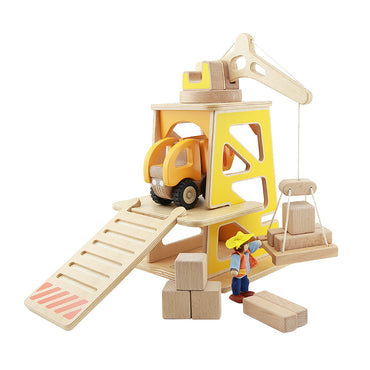 Construction Site Mini Play Set Pretend Play Developmental Toys