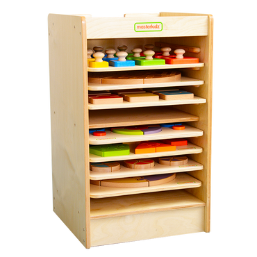 Board Toy Storage Tower(10 pcs)