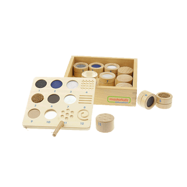 Tactile Training Texture and Material Teaching Set (Tray Include)