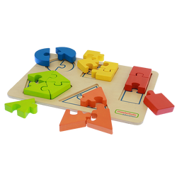 Shape Learning Jigsaw Puzzle