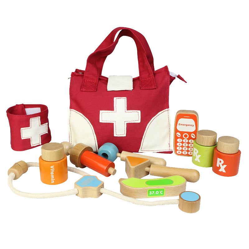 My First Doctor Kit Educational Montessori Children's Toys