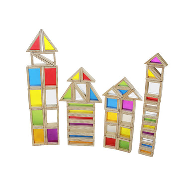 Assortment Set 51 Pieces  (Rainbow Blocks and Mirror Blocks)