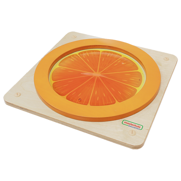 Squashy Sensory Training Orange Slice Board