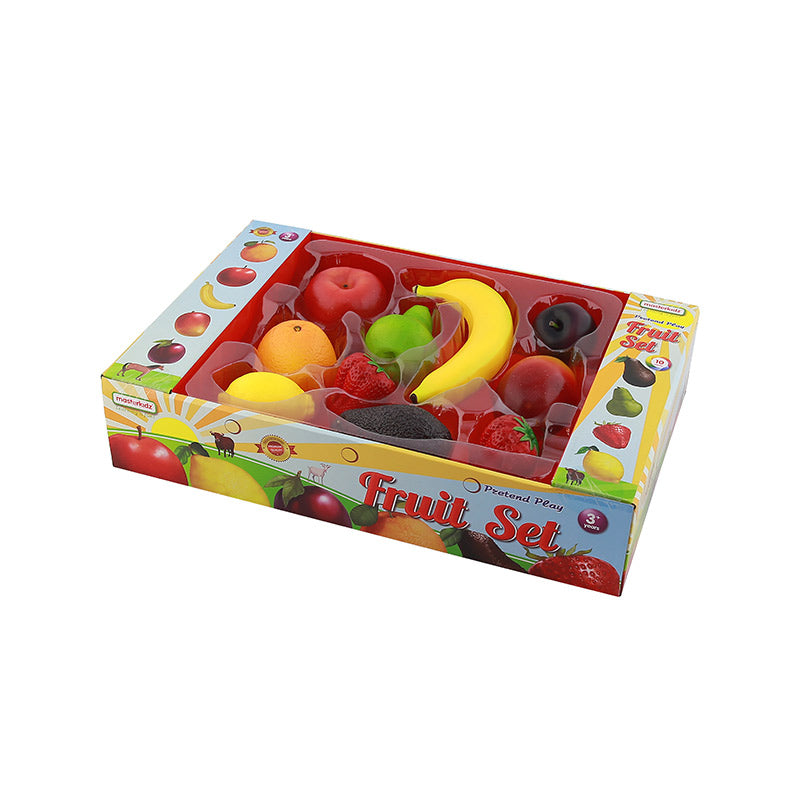 Realistic Toy for Pretend Play Wooden Food