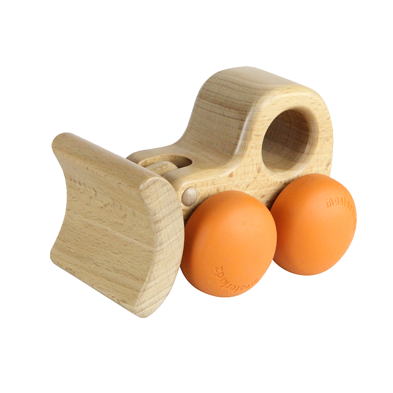 Push Along Rolling Wooden Toy -Lil' Chunkerz