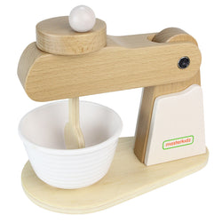 Mixer Wooden Kitchen Toys Pretend Play for Kids