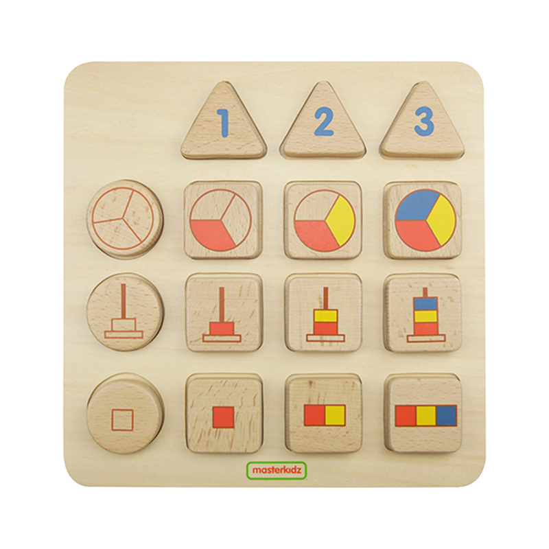 Number Representations Learning Board