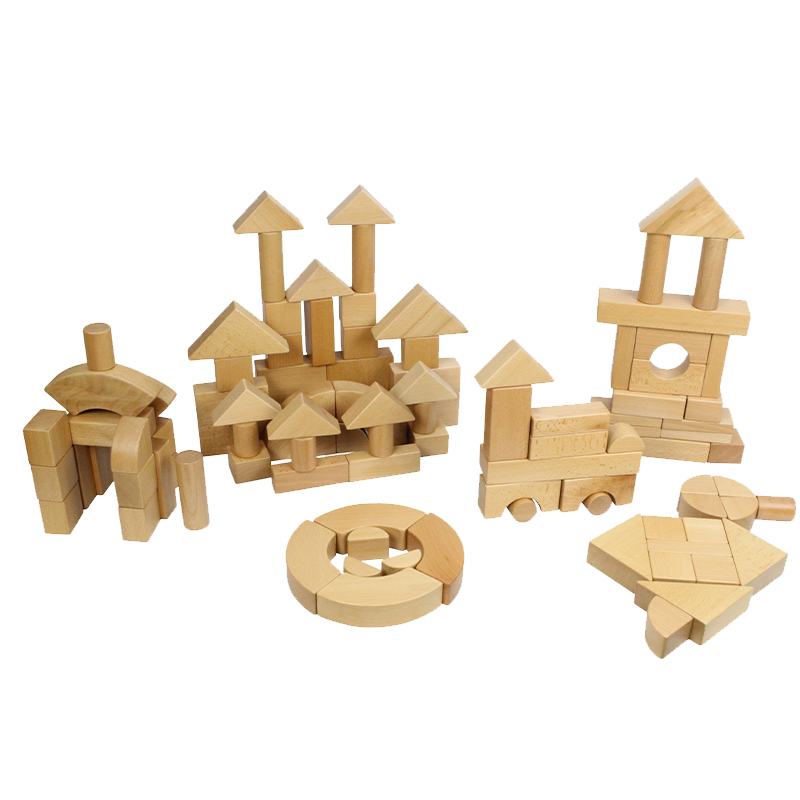 Wooden Block Set - 92 Piece