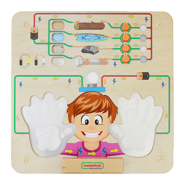 Conductivity Experiment Learning Board Play Teaching Aids | Masterkidz