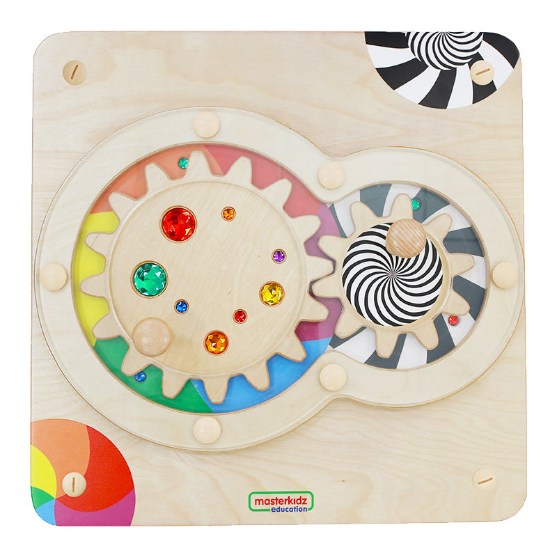 Hand Coordination Training Gears Wooden Natural Toys