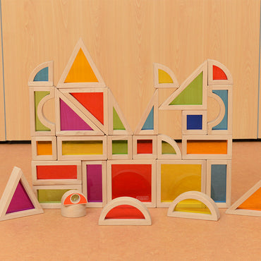 Rainbow Block Set - 30 Piece