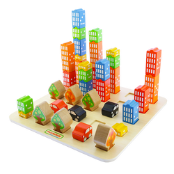 Tiny City -  A Spatial Relationship Learning Game