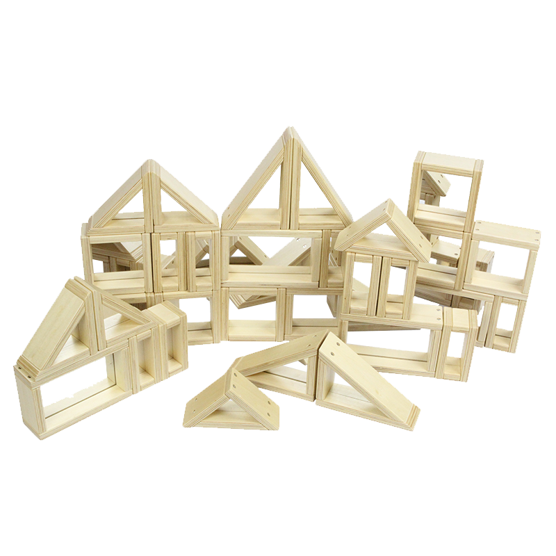 Mirror Block Set - 31 Piece