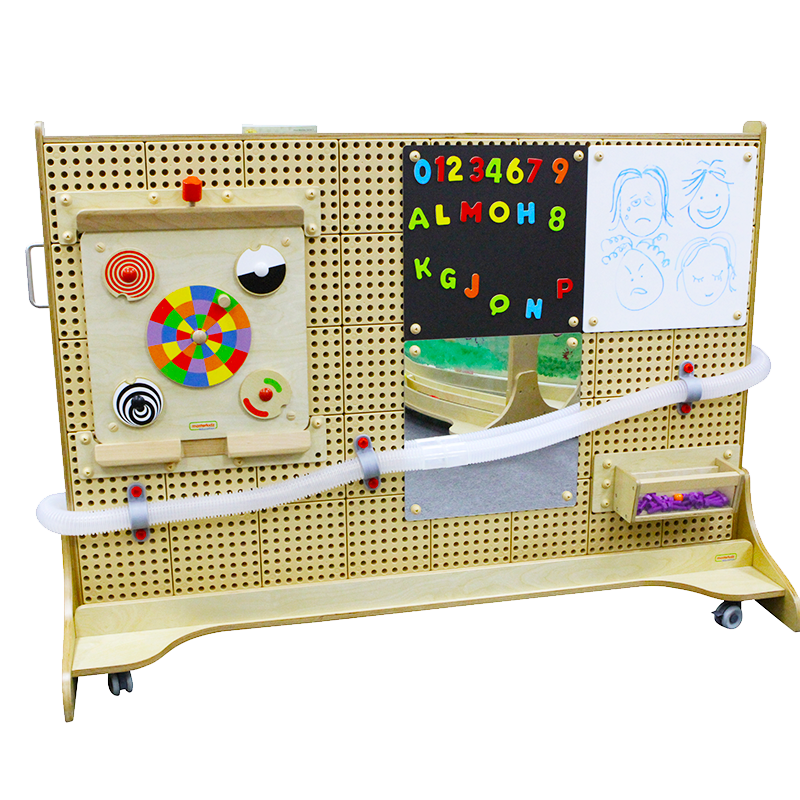 STEM WALL Free Standing -  Wooden Body 65.35""