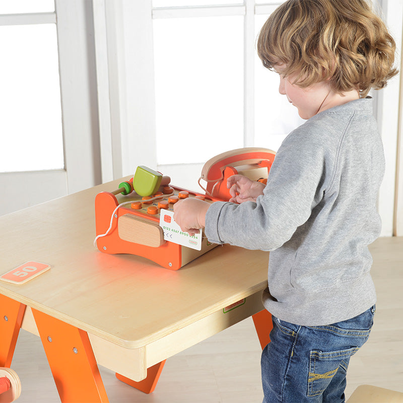 Cash Register Pretend Play Wooden Learning STEM Toys