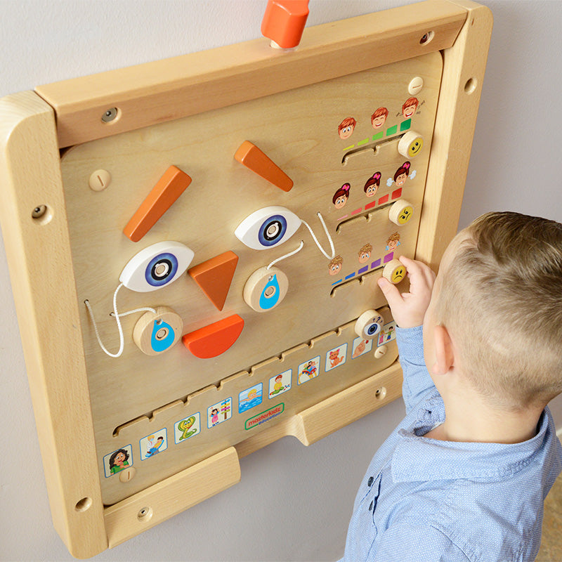 Emotional Expression Learning Board Play Teaching Aid | Masterkidz