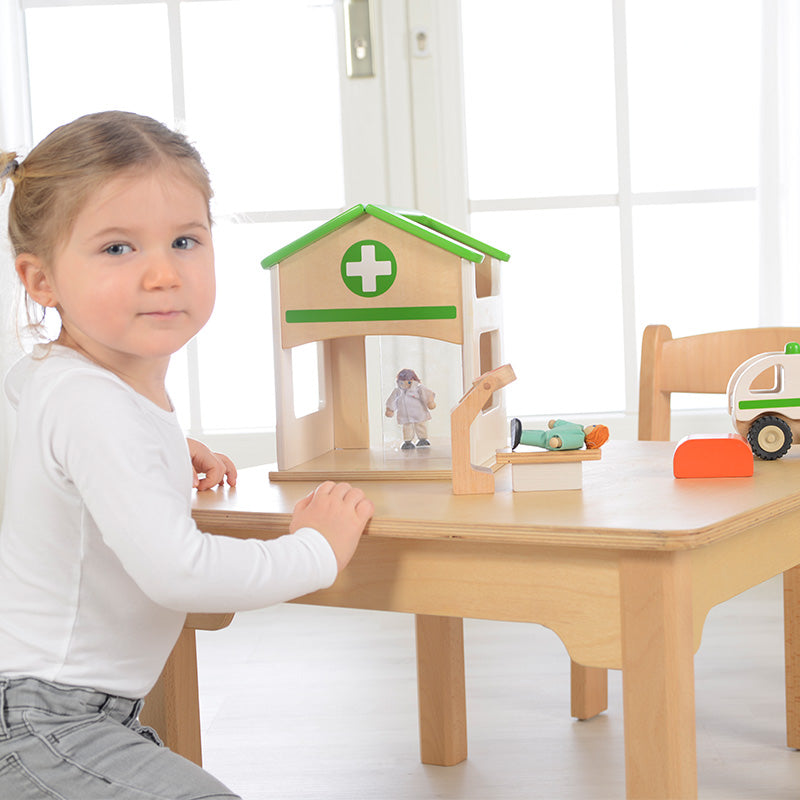 Hospital Mini Playset STEM Toys Preschool