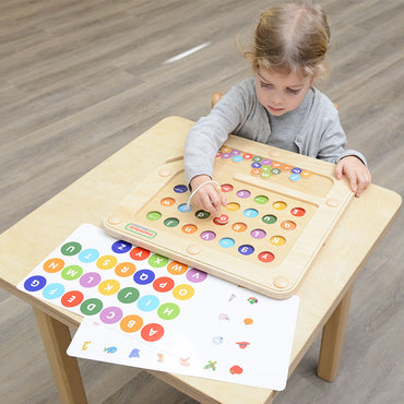 Alphabets Learning Magnetic Maze