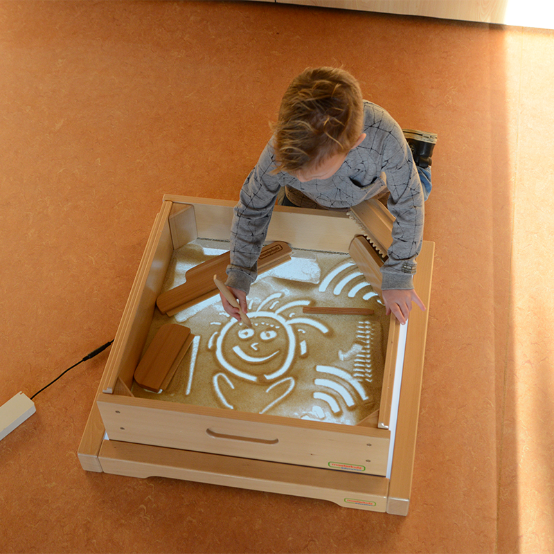Square Sand Tray