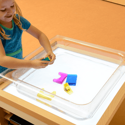 Clear Water Play Tray (Square)
