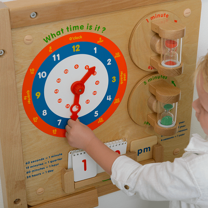 Time Learning Board