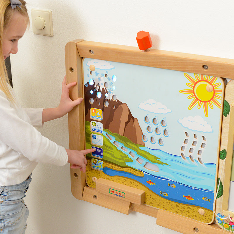 The Water Cycle Preschool Toys for Cognitive Development