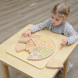 Tactile and Visual Matching Blocks
