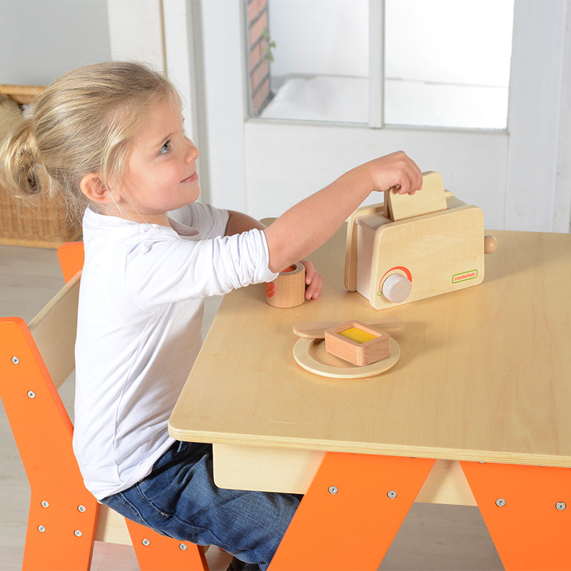 Toaster Set Kitchen Toys Pretend Play for Kids