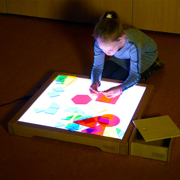 A perfect combination with the Masterkidz Education LED Light Boxes